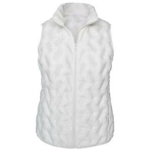 NWT Tangerine Light Weight White Vest size:Small